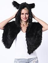 cheap -Adults' Cloak Kigurumi Pajamas Bear Onesie Pajamas Flannelette Black Cosplay For Men and Women Animal Sleepwear Cartoon Festival / Holiday Costumes