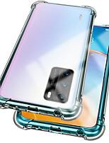 cheap -Huawei Honor20Pro Four-corner Anti-drop Phone Case HonorV30Pro Half-back Transparent TPU Anti-drop Honor 30 Honor Series Protective Case