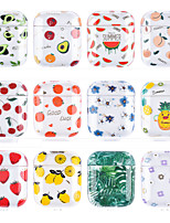 cheap -Case For AirPods 1 2 pro Pattern Food Headphone Case Hard