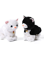 cheap -Electric Toys Stuffed Animal Plush Toy Cat Gift Singing Dancing Walking Interactive PP Plush Imaginative Play, Stocking, Great Birthday Gifts Party Favor Supplies Boys and Girls Kid's Adults