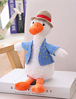 cheap -Electric Toys Stuffed Animal Plush Toy Duck Gift Singing Repeats What You Say Interactive PP Plush Imaginative Play, Stocking, Great Birthday Gifts Party Favor Supplies Boys and Girls Kid's Adults
