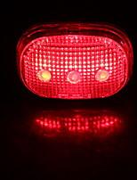 cheap -LED Bike Light LED Light Rear Bike Tail Light Safety Light LED Bicycle Cycling Waterproof Safety Super Light Night Vision Red