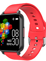 cheap -696 T82 Unisex Smartwatch Smart Wristbands Android iOS Bluetooth Heart Rate Monitor Blood Pressure Measurement Sports Information Message Control Pedometer Activity Tracker Sleep Tracker Sedentary