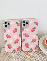 cheap -Case For  iPhone 7 7Plus iPhone 8 8Plus iPhone X iPhone XS XR XS max iPhone 11 11 Pro 11 Pro Max Pattern Back Cover Food TPU