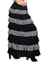 cheap -women waterfall 8 tiered boho layered maxi skirt reg plus sizes