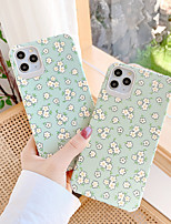 cheap -Case For Apple iPhone 7 7Plus iPhone 8 8Plus iPhone X iPhone XS XR XS max iPhone 11 11 Pro 11 Pro Max  SE Pattern Back Cover Flower TPU
