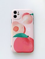 cheap -Case For iPhone 7 8 7 Plus 8 Plus X XS XR XS Max SE 11 11 Pro 11 Pro Max IMD Pattern Back Cover Food TPU