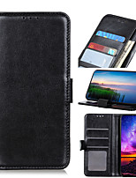 cheap -Case For Sony Xperia L3 10 10Plus XA3 10 1 5 XZ5 Card Holder Shockproof Magnetic Full Body Cases Solid Colored PU Leather TPU
