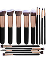 cheap -Professional Makeup Brushes 14pcs Professional Full Coverage Comfy Wooden / Bamboo for Makeup Set