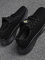 cheap -Men's Summer / Fall Sporty / Casual Daily Outdoor Loafers & Slip-Ons Walking Shoes Mesh Breathable White / Black / Gray