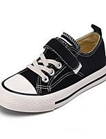 cheap -Boys' / Girls' Flats Vulcanized Shoes Canvas Little Kids(4-7ys) / Big Kids(7years +) Walking Shoes White / Black / Yellow Spring / Fall / Slogan