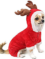 cheap -unisex pet dog winter clothes cow cosplay costume hooded coat puppy cat warm hooded halloween christmas party sweater jumpsuits apparel jackets cute cow hoodie fleece warm coat for small dog cat
