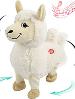 cheap -Electric Toys Stuffed Animal Plush Toy Sheep Gift Singing Dancing Interactive PP Plush Imaginative Play, Stocking, Great Birthday Gifts Party Favor Supplies Boys and Girls Kid's Adults