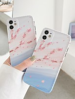 cheap -Case For Apple iPhone 7 7Plus iPhone 8 8Plus iPhone X iPhone XS XR XS max iPhone 11 11 Pro 11 Pro Max SE Pattern Back Cover Scenery TPU