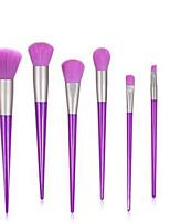 cheap -Professional Makeup Brushes 7pcs Professional Soft Full Coverage Comfy Plastic for Eyeliner Brush Makeup Brush Eyeshadow Brush