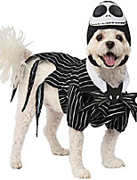 cheap -nightmare before christmas pet costume, jack skellington