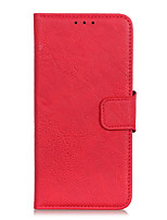cheap -Case For Motorola Moto G8 G8 Power G8 Power Lite G Stylus E7 G Power E6S 2020 Edge Card Holder Flip Full Body Cases Solid Colored PU Leather