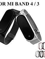 cheap -Watch Band for Mi Band / Xiaomi Band 4 Xiaomi Classic Buckle / Milanese Loop Stainless Steel Wrist Strap