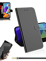 cheap -Case For Samsung Galaxy Galaxy S10 S10 Plus S10e Galaxy A10 M10 A20 A30 A50 A30s A50s A70 A40 A10E A20E A10S Card Holder  Flip Full Body Cases Solid Colored PU Leather