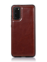 cheap -Case For Samsung Galaxy Galaxy A10s A30s A50s A70s M10 A10e A20e Wallet Card Holder Full Body Cases Solid Colored PU Leather TPU