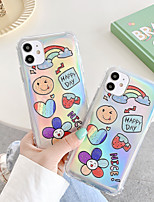 cheap -Case For Apple iPhone 7 8 7plus 8plus X XR XS XSMax SE(2020) iPhone 11 11Pro 11ProMax Shockproof Pattern Back Cover Food Word Phrase Cartoon TPU