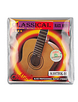 cheap -NAOMI Alice A107BK-H Black Nylon H85 Coated Bronze Alloy Wound Classical Guitar Strings 1st-6th Strings