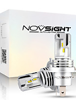 cheap -NOVSIGHT 2pcs A500-N30S For H4 Car Light Bulbs 55 W 10000 lm LED Headlamps For universal General Motors All years With Set Up video
