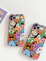 cheap -Case For Apple iPhone 7 7P iPhone 8 8P iPhone X iPhone XS XR XS max iPhone 11 11 Pro 11 Pro Max  iPhone 12 Pattern Back Cover Cartoon TPU