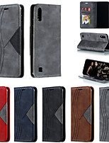 cheap -Case for Samgung Galaxy Note 8 9 10 10plus 10pro 20 M31 Flip Magnetic Full Body Cases Lines Waves PU Leather