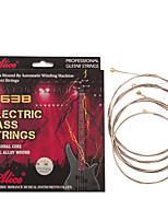 cheap -NAOMI Alice Electric Guitar Bass Strings A638(4)-M Plated Steel Nickel Alloy Wound Strings Guitar Accessories