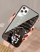 cheap -Case For iPhone 7 8 7 Plus 8 Plus X XS XR XS Max SE 11 11 Pro 11 Pro Max Mirror Back Cover Word Phrase TPU PC