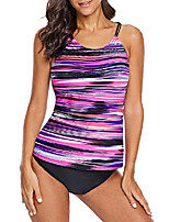 cheap -Women's Tankini Swimwear Swimming Water Sports Summer