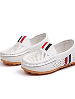 cheap -Boys' Flats Comfort / Moccasin / Children's Day Leather Leatherette Loafers Little Kids(4-7ys) / Big Kids(7years +) White / Black / Brown Spring / Fall / Party & Evening