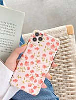 cheap -Case For iPhone 7 plus 8 plus XR XS XS MAX X SE 11 11Pro 11ProMax Pattern Back Cover TPU Flower