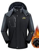 cheap -Men's Boys' Hiking Jacket Winter Outdoor Thermal Warm Windproof Breathable Soft Jacket Winter Jacket Top Camping / Hiking Outdoor Black / Red / Army Green / Dark Blue / Light Blue