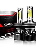 cheap -2PCS LED 5000LM Mini Car Headlight Bulbs F2-H4-H13-9004-9007 Auto Lamps 6000K IP68 Waterproof