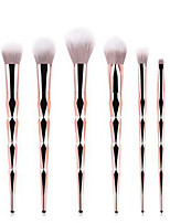 cheap -Professional Makeup Brushes 7pcs Professional Soft Full Coverage Comfy Plastic for Eyeliner Brush Blush Brush Foundation Brush Makeup Brush Eyeshadow Brush
