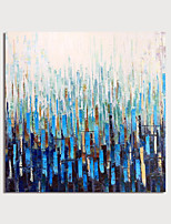 cheap -Hand Painted Canvas Oilpainting Square Abstract Home Decoration with Frame Painting Ready to Hang With Stretched Frame