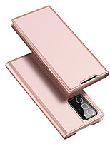 cheap -Case For Samsung Galaxy S10 S10 PLUS S10E Card Holder Shockproof  Flip Full Body Cases Solid Colored PU Leather  TPU