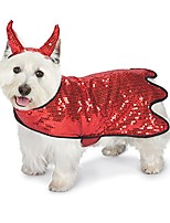"cheap -sequin devil dog costume, 24""/x-large"