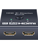 cheap -4K HDMI Switch 2 Ports Bidirecional 1x2/2x1 Hdmi Switcher Splitter Support Ultra Hd 1080p 3D