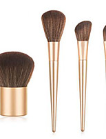 cheap -Professional Makeup Brushes 4pcs Professional Soft Full Coverage Comfy Wooden / Bamboo for Eyeliner Brush Makeup Brush Eyeshadow Brush