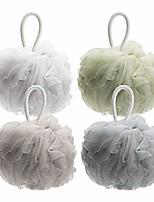 cheap -shower bath sponge 75g/pcs shower loofahs balls for body wash men women bathroom-4 pack & #40;neutral colors& #41;
