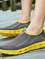 cheap -Men's Summer / Fall Sporty / Beach Daily Outdoor Loafers & Slip-Ons Running Shoes / Fitness & Cross Training Shoes Mesh / Synthetics Breathable Wear Proof Dark Grey / Black / Blue