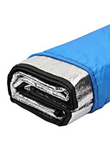 cheap -Picnic Pad Picnic Blanket Outdoor Camping Waterproof Moistureproof Aluminum Foil 200*200 cm for 5 pcs Camping / Hiking All Seasons Silver