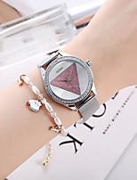 cheap -Women's Quartz Watches Quartz Modern Style Stylish Classic Chronograph Silver Analog - Blushing Pink