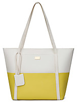 cheap -Women's Bags PU Leather Top Handle Bag Zipper for Daily / Date Black / Blue / Yellow