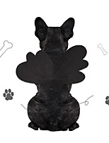 cheap -Dog Cat Halloween Costumes Costume Bandanas & Hats Angel & Devil Cute Cool Christmas Party Dog Clothes Breathable Black Costume Fabric S M L