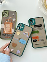 cheap -Case For Apple iPhone 6 6plus 6s 6s plus 7 7Plus iPhone 8 8Plus iPhone X iPhone XS XR XS max iPhone 11 11 Pro 11 Pro Max SE Pattern Back Cover Word Phrase TPU PC