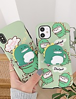 cheap -Case For Apple iPhone 6 6s 6p 6sp iPhone 7 7P 8 8P iPhone X iPhone XS iPhone XR iPhone XS max iPhone 11 11 Pro 11 Pro Max with Stand Pattern Back Cover Cartoon TPU  PC